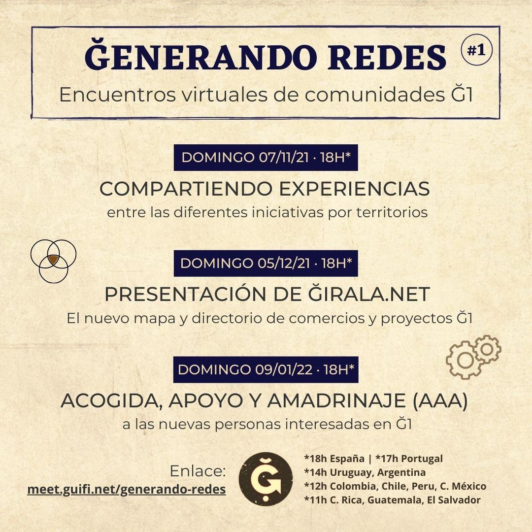 GENERANDO REDES
