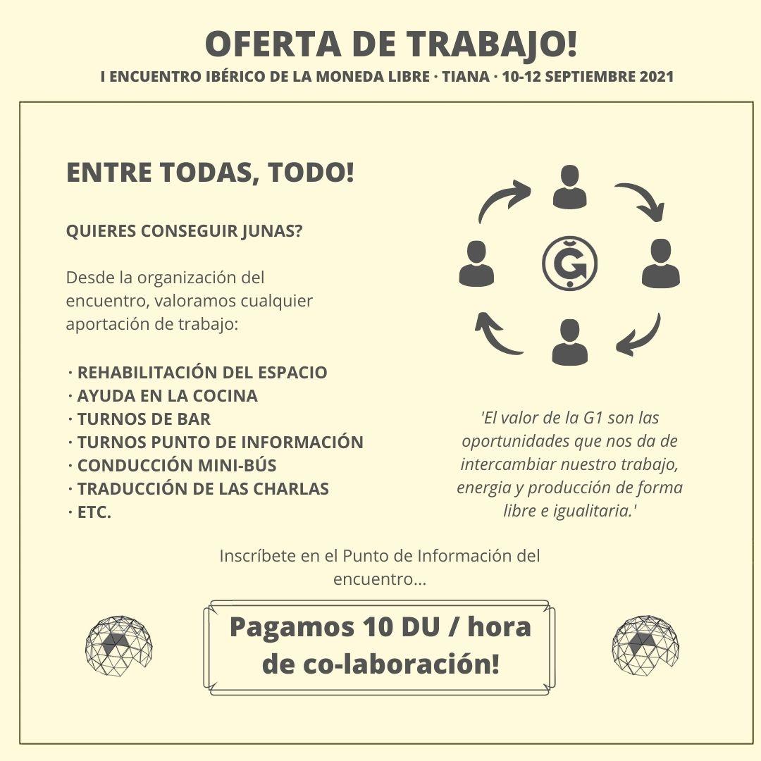 4. Oferta de trabajo