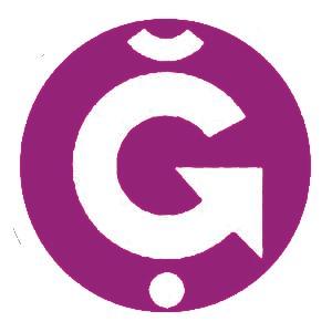 g1 logo lila