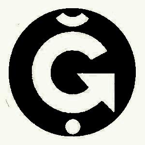 g1 logo negre